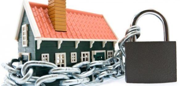 slot huis beschermd tegen inbrekers